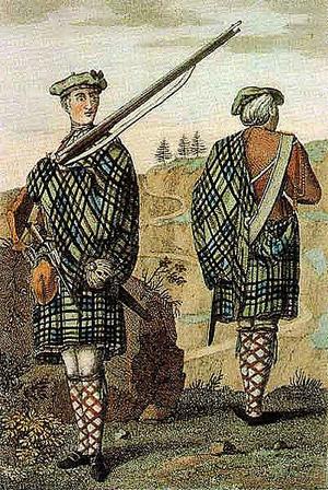 Highland soldier 1744